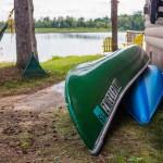 Canoeing on Lake Ida