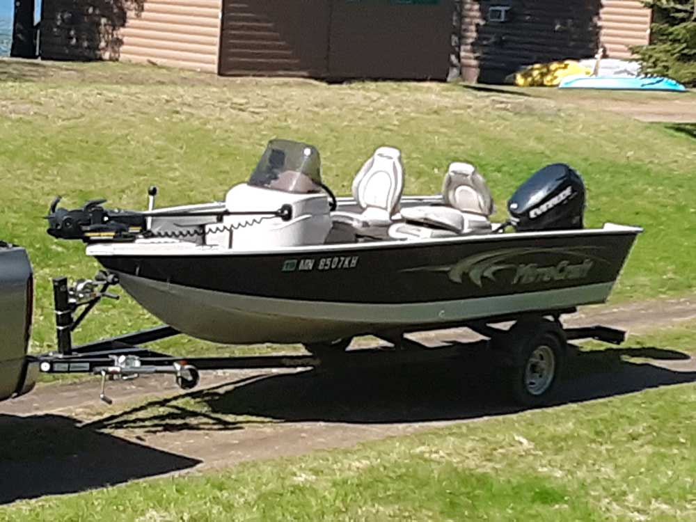 16ft Microcraft Fishing Boat
