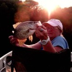 Fishing on Big Sand Lake